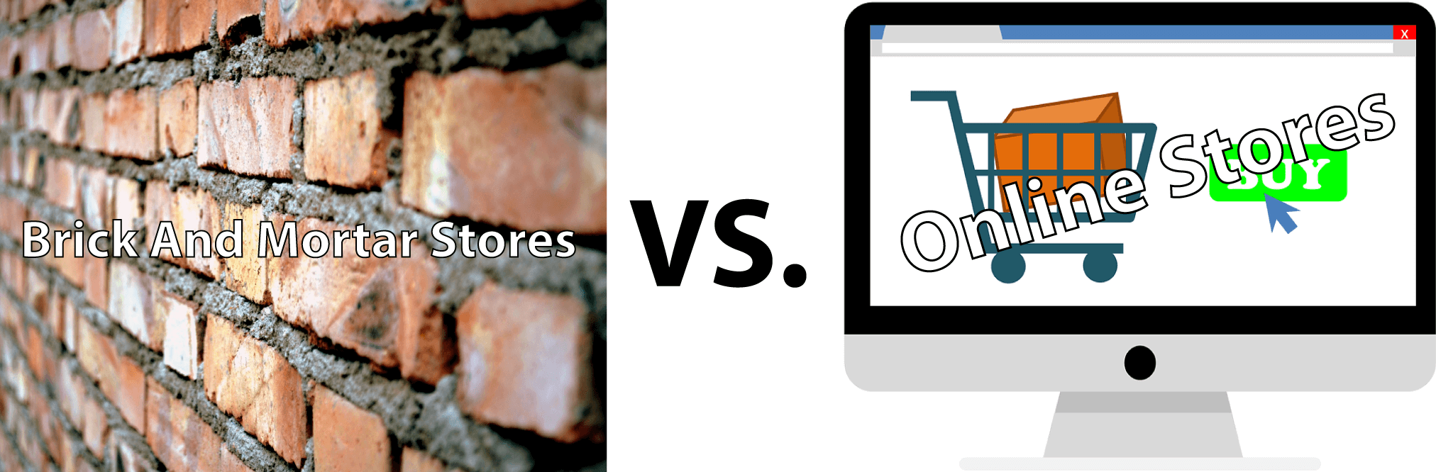 online vs brick and mortar shopping By the knowing the difference between brick & mortar vs ecommerce shops, you  would be able to make the right decision for your retail.